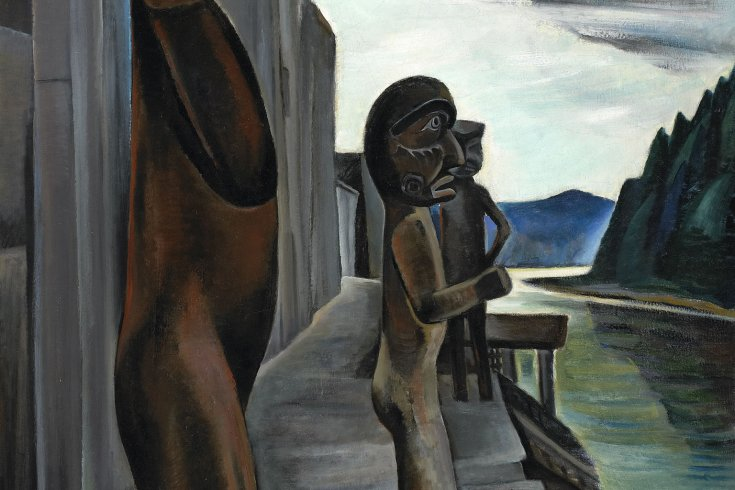 Painting by Emily Carr/courtesy of the National Gallery of Canada