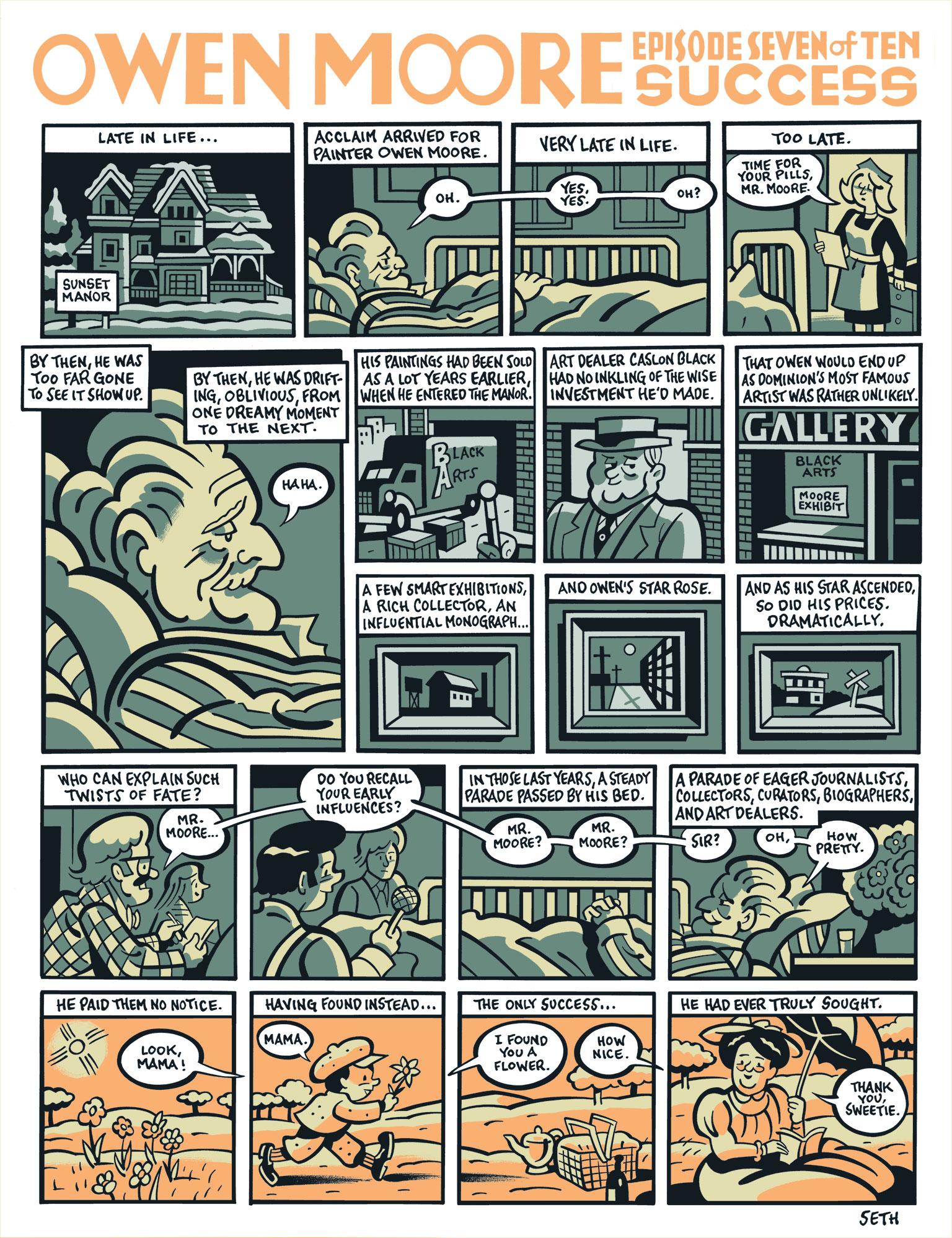 Comic by Seth