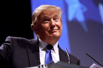 Photography of Donald Trump Smirking