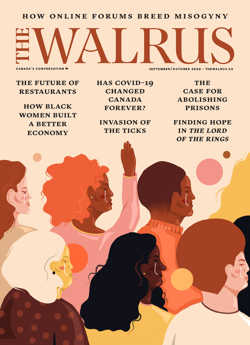 Cover of the Sept-Oct issue of The Walrus magazine.