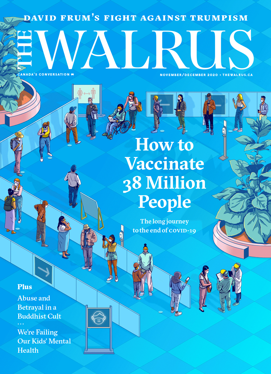 Cover of the Nov/Dec issue of The Walrus magazine.