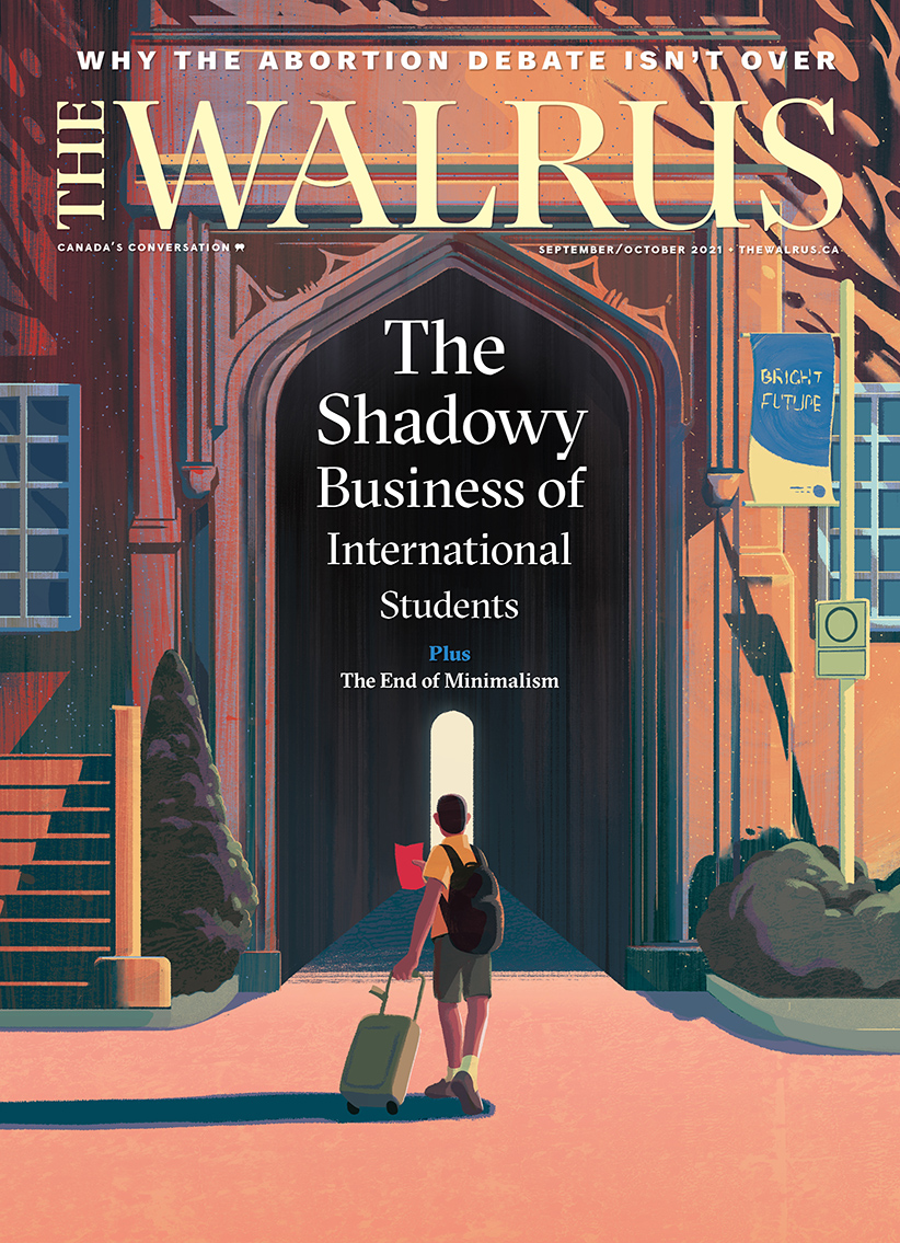 Cover of the Sept/Oct issue of The Walrus magazine.