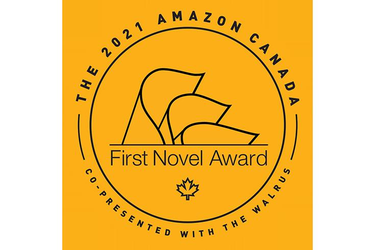 Amazon First Novel Award 2021 logo.