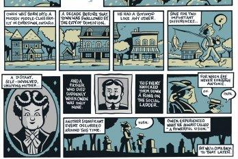 Owen Moore comic by Seth