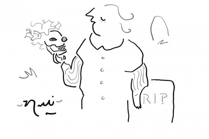 Cartoon by Rolli