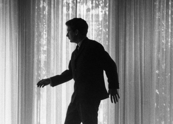 Claude Jutra, in a still from À Tout Prendre (Take It All), 1963 / Courtesy of Cinémathèque Québécoise