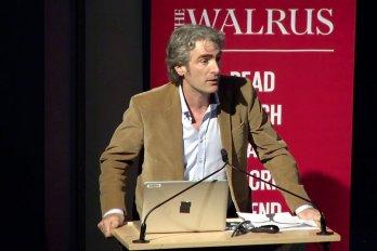 Video still of Tom Rand from The Walrus Talks Energy