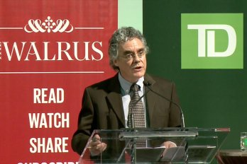 Video still of Dennis O'Hara from The Walrus Talks Sustainability