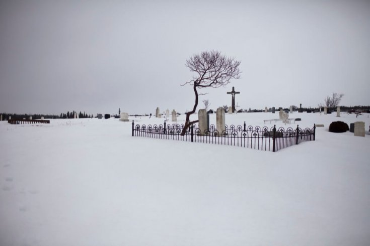 St Lawerence Cemetery, Newfoundland.