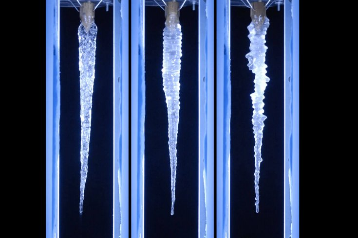three icicles