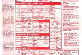 Festival of Festivals 1976 programming guide