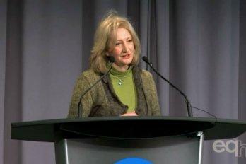 Video still of Vicky Sharpe from The Walrus Talks Energy