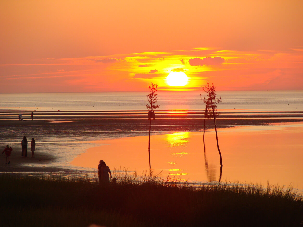 Photograph of a sunset by Mickey Barry