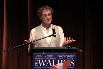 Video still of Kevin McMahon from The Walrus Talks Water