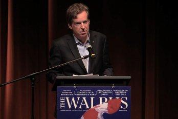 Video still of John Geiger from The Walrus Talks Water