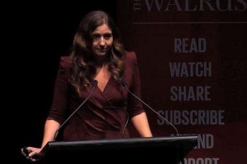 Video still of Kali Taylor from The Walrus Talks Energy