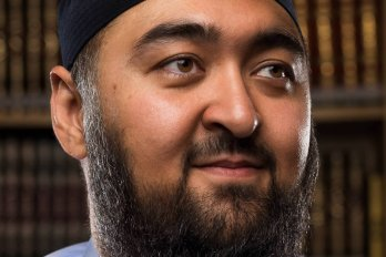 A photo of Calgary imam Navaid Aziz