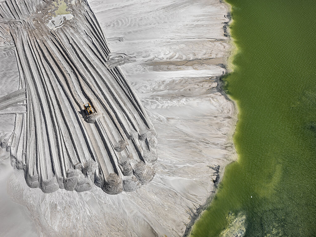 Phosphor Tailings Pond #4, Near Lakeland, Florida, USA 2012