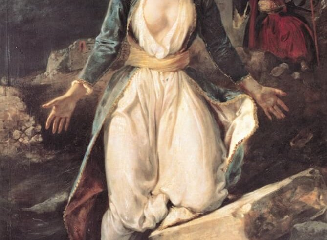 painting by eugene delacroix