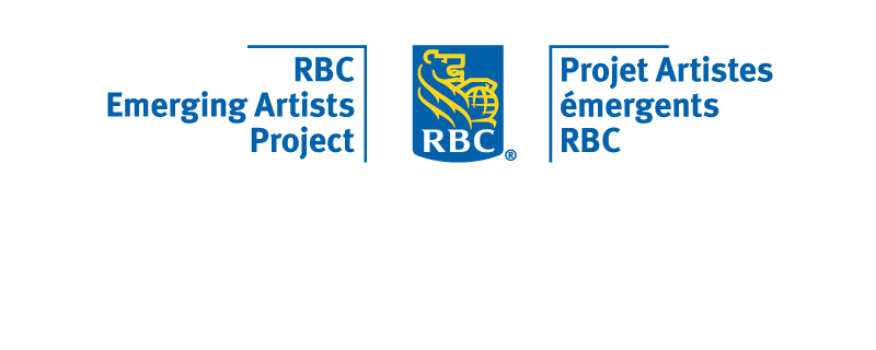 RBC Emerging Artists Project logo on a white background.