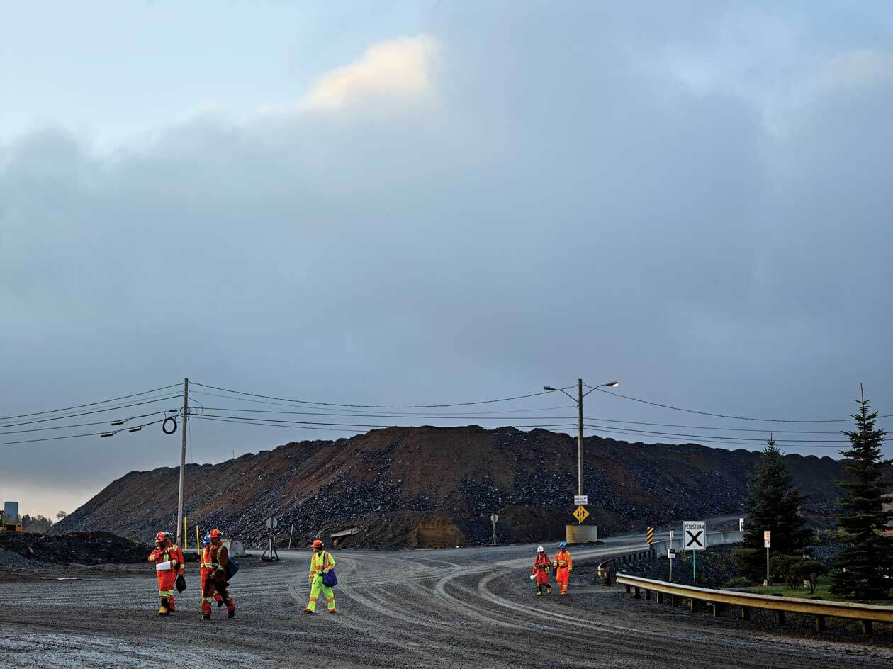 Photos of and near SNOLAB in Sudbury, Ont.