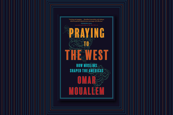 Book cover of Praying to the West by Omar Mouallem