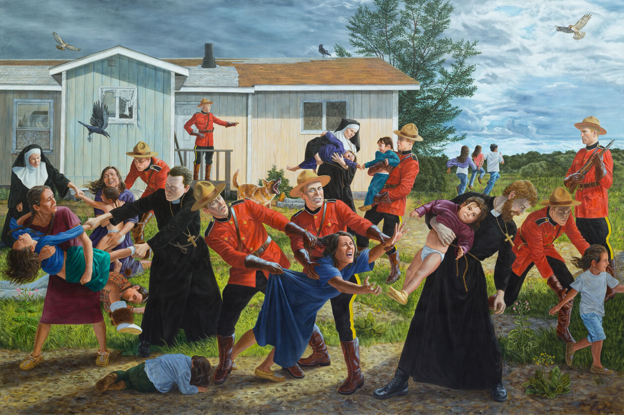 Painting by Kent Monkman