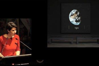 Video still of Josée Drouin-Brisebois from The Walrus Talks Being Human