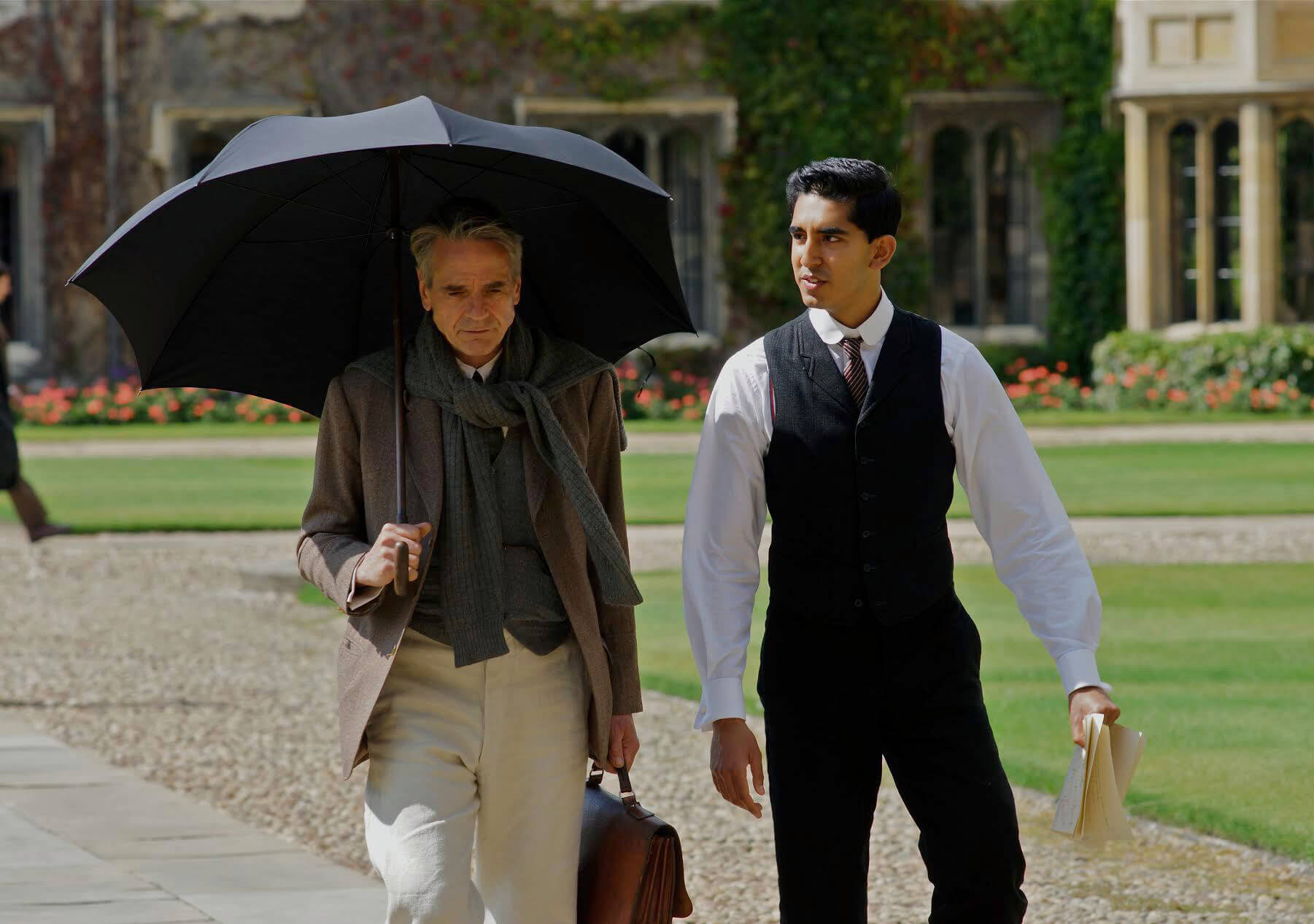 Video still from The Man Who Knew Infinity