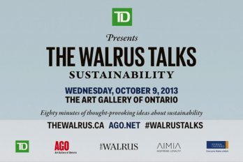 The Walrus Talks Sustainability title image