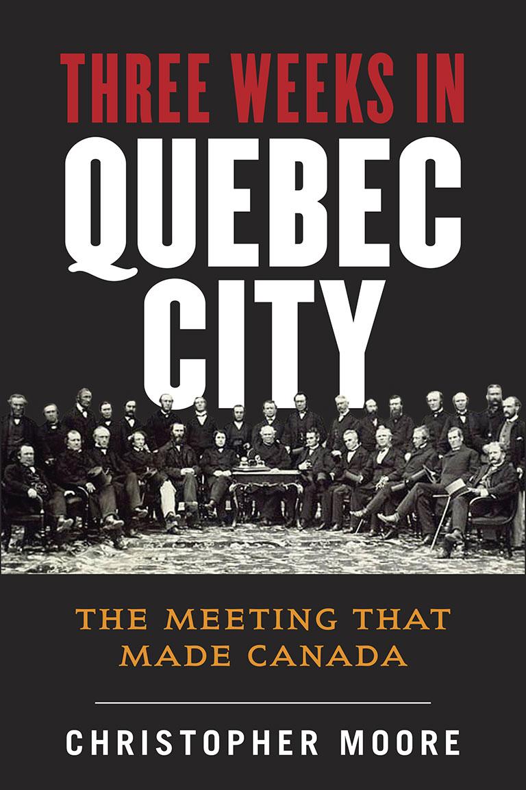 Book jacket of Three Weeks in Quebec City courtesy of Allen Lane