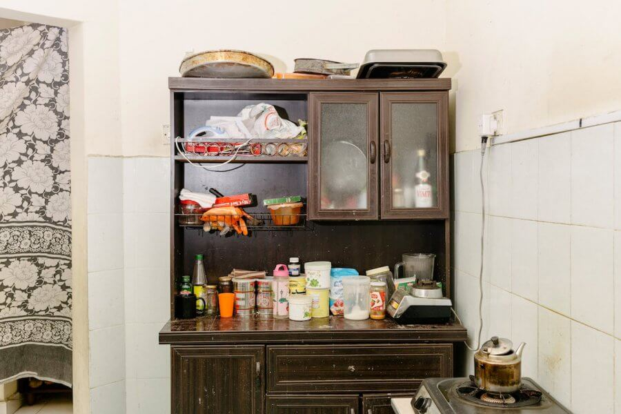 Enas's home kitchen