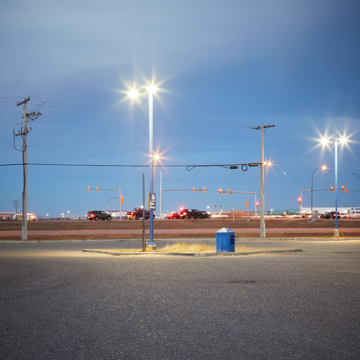 Greyhound terminal in Saskatoon.