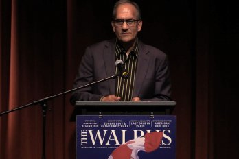 Video still of Chris Henderson from The Walrus Talks Water