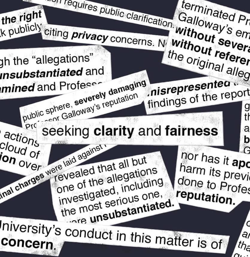 Seeking clarity and fairness