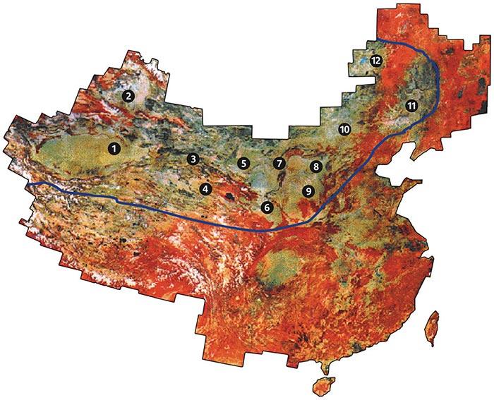 Desertification Areas, 2000