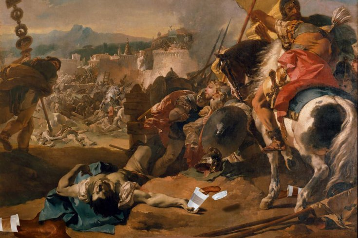 War painting from the MET.