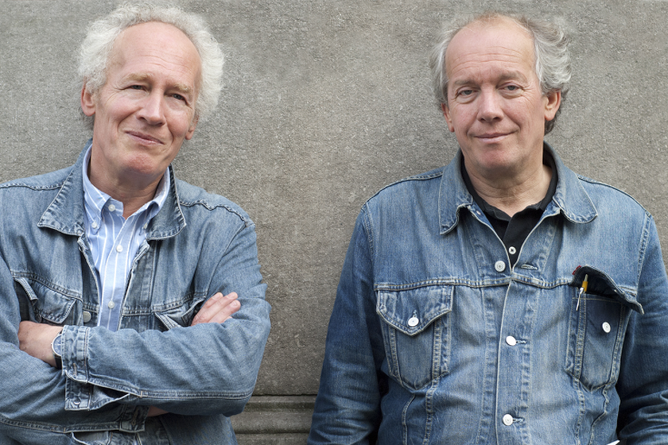 Photograph of Jean-Pierre and Luc Dardenne courtesy of Wildbunch