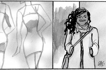 A comic by Mariko Tamaki and Gillian Goerz