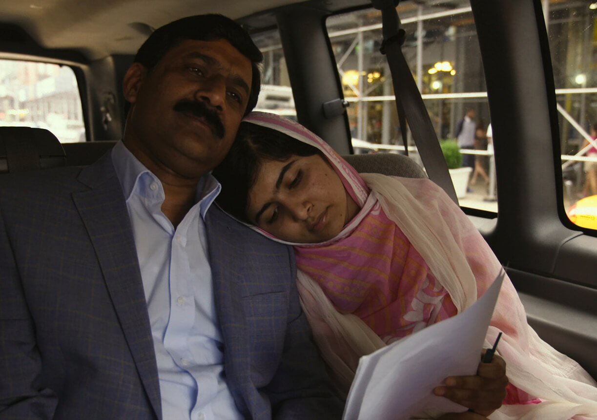 Video still from He Named Me Malala