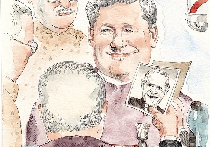 Illustration by Barry Blitt