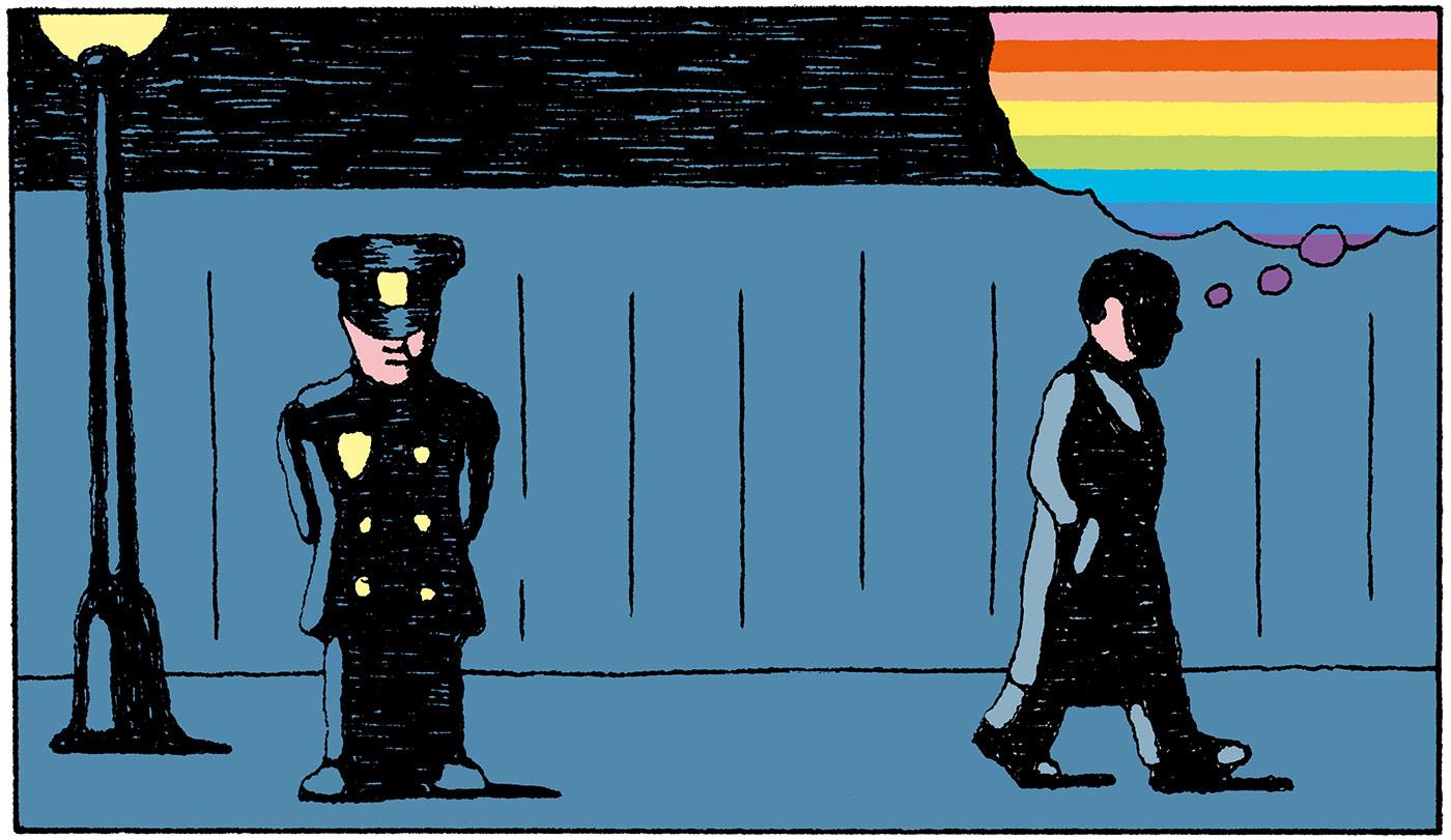 Illustration by Alain Pilon
