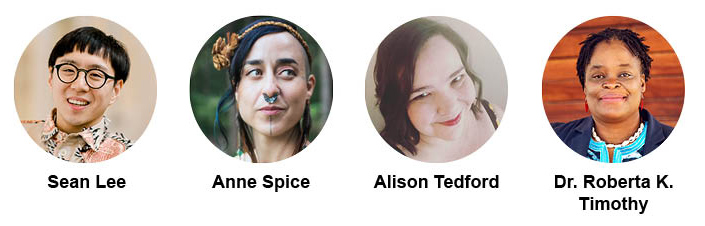 Photos of Sean Lee, Anne Spice, Alison Tedford, and Dr. Roberta K. Timothy
