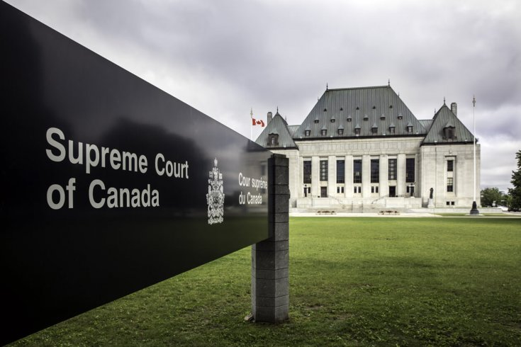 exterior shot of the supreme court of canada