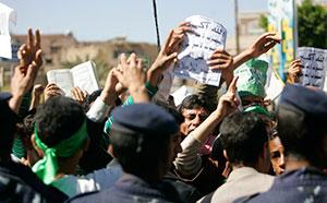 Photograph from Reuters/Khaled Abdullah Ali Al Mahdi