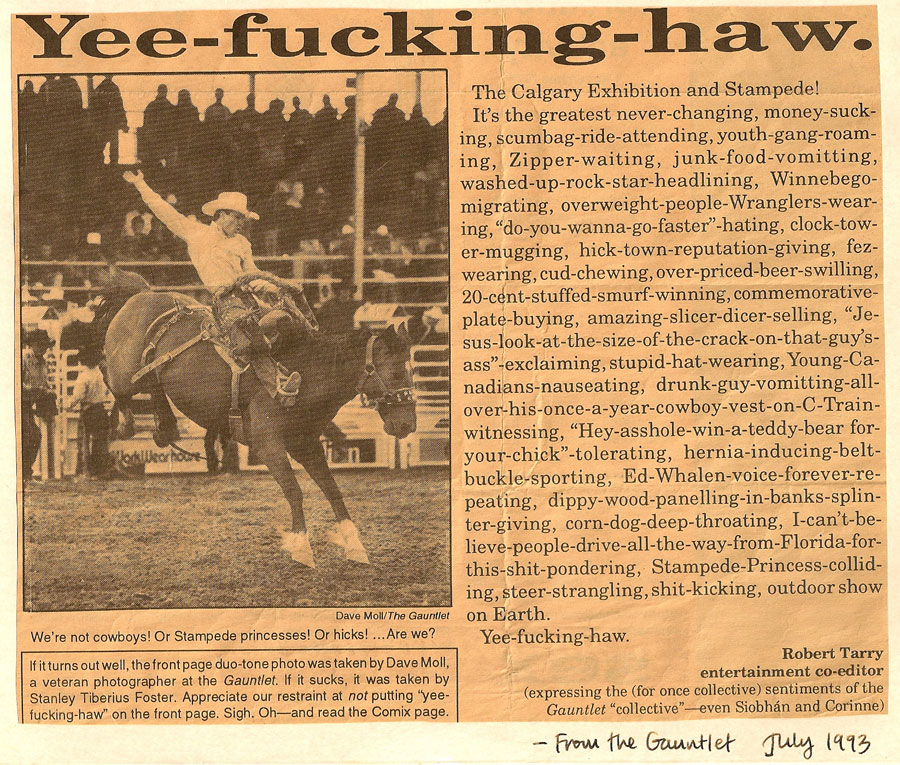 Recovered newspaper clipping